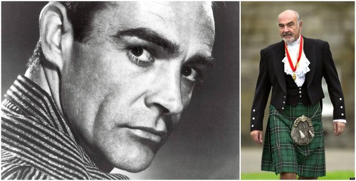 Sean Connery demonstrează că la 82 de ani kilt-ul trebuie să fie impecabil atunci când este îmbrăcat.
