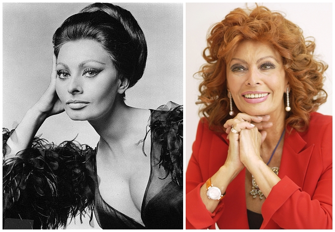 """Sophia Loren sau """"Frumuseţea şi stilul sunt istorie"""""""