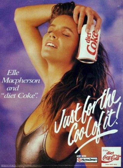 0. Diet Coke, Elle Macpherson