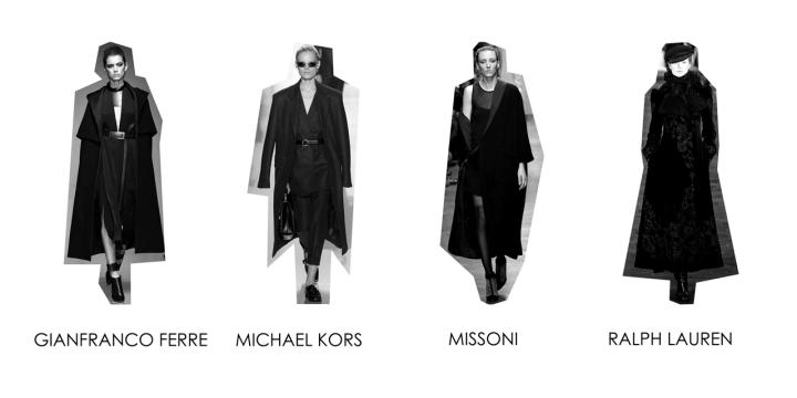 Palton negru 2B