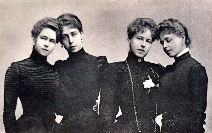 Beatrice, Victoria, Alexandra, Maria