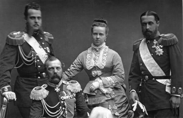 Ducele Alexei Alexandrovici - fratele mamei RM, Alexandrul al II lea