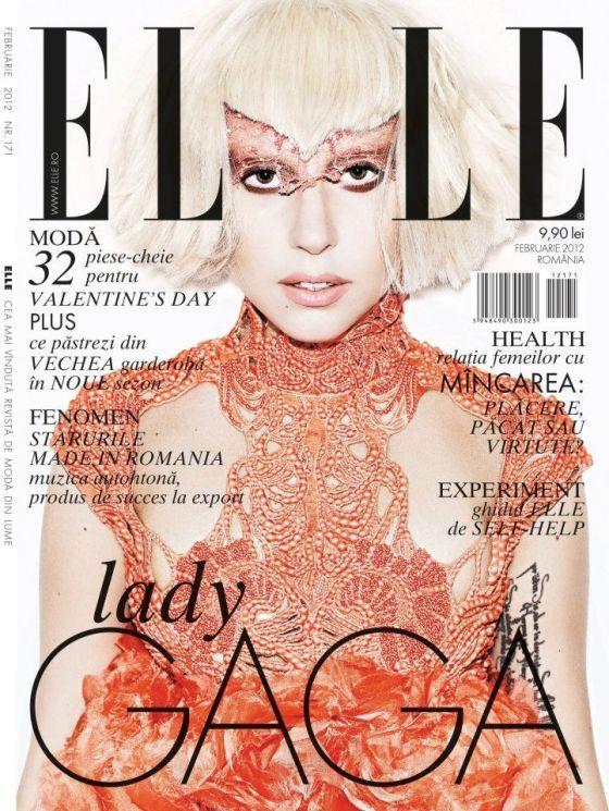 Lady Gaga Elle Romania