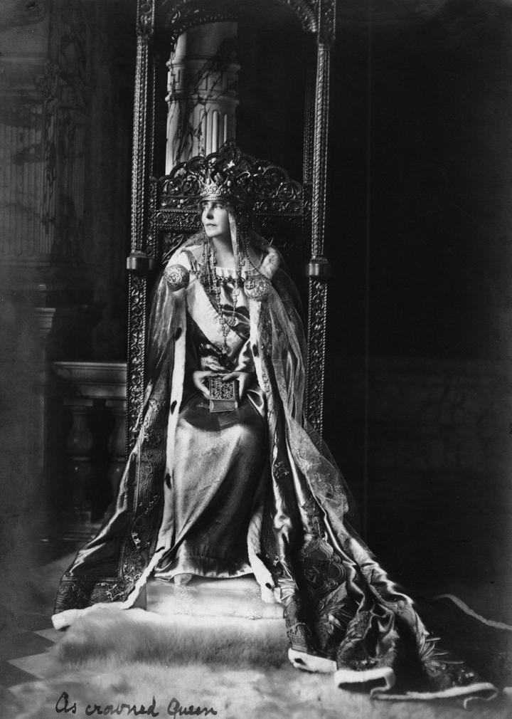Regina Maria încoronată, 1922