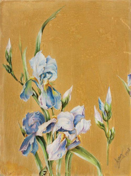 Tablou pictat de Regina Maria, 1908