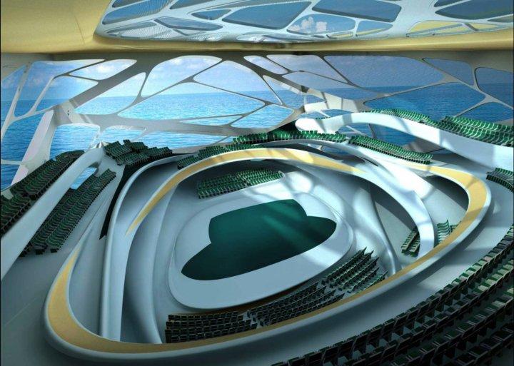 Dubai Performing Arts Center interior