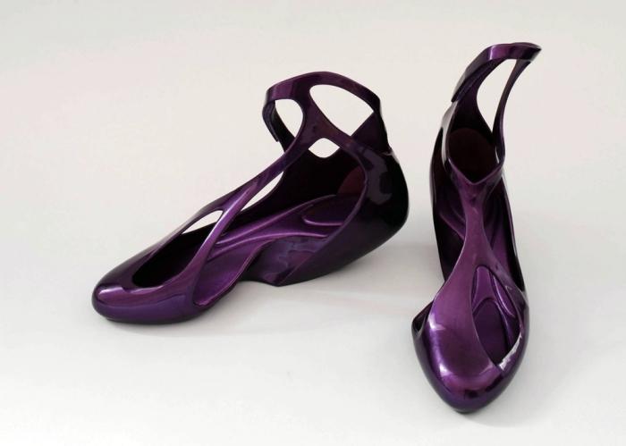 Zaha Hadid x Melissa Shoes