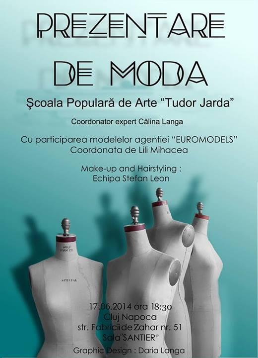 Prezentare de moda Scoala Populara de Arte Tudor Jarda