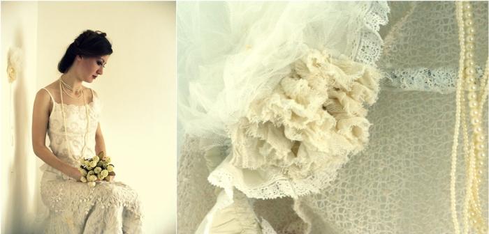 Creatie vestimentara realizata de Corina Comarnitchi.
