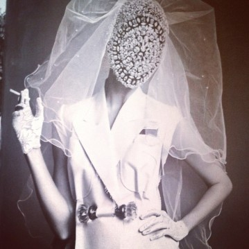 Margiela bride by alerati