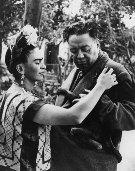 Frida Kahlo si Diego Rivera  Sursa foto: independent.co.uk