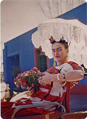 Fira Kahlo aflata in locuinta sa, La Casa Azul Sursa foto: openculture.com