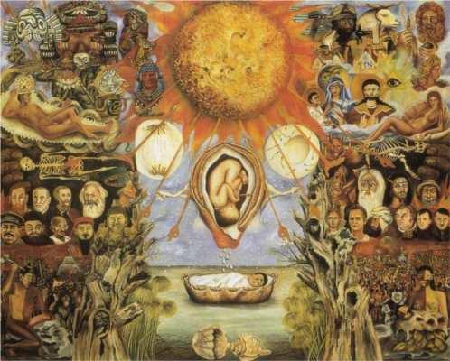 Moise sau Nucleul Creatiei Frida Kahlo