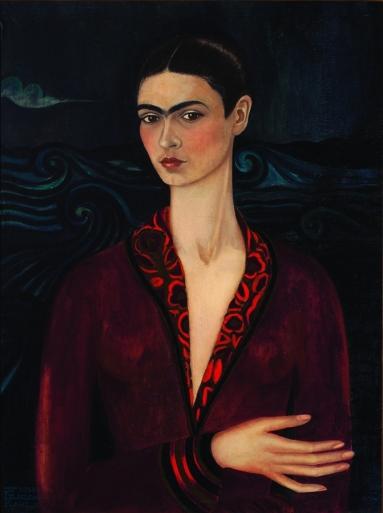 Autoportretul Fridei Kahlo la varsta de 19 ani, 1926